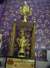 Malik Israr Mr MP Trophy