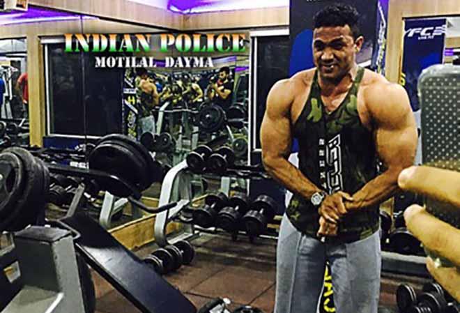 Motilal Dayma in Gym