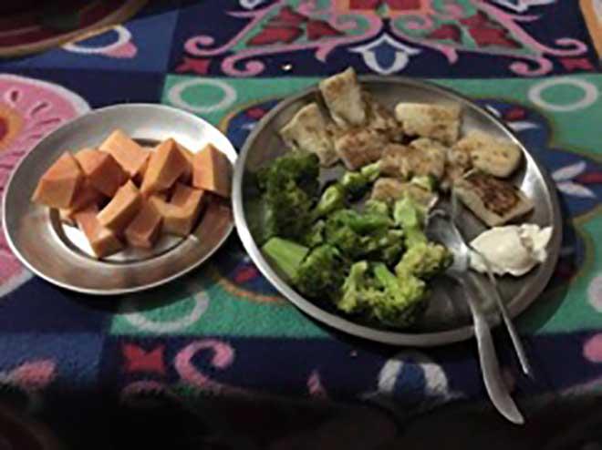 Mukesh Singh Diet Plan