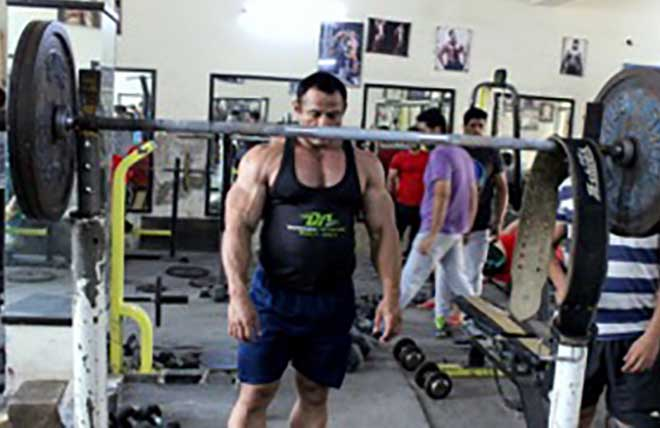 Mukesh Singh Workout