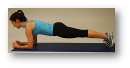 Plank for 30 seconds