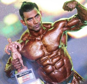 Sachin Dongre Posing - IBB - Indian Bodybuilding