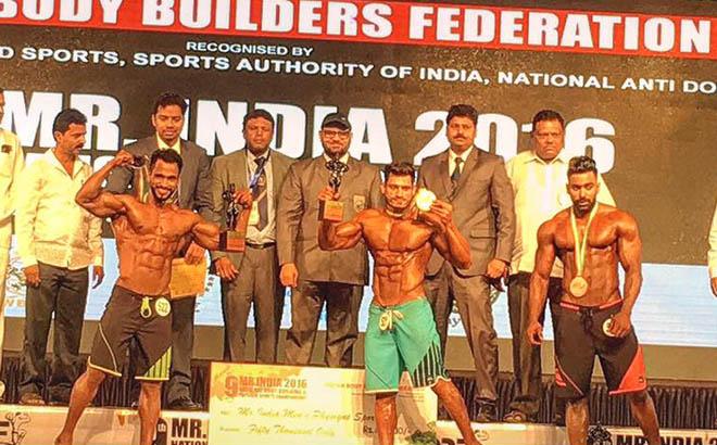 Manoj Patil Mr India Physique Category