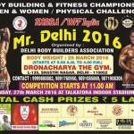 Mr Delhi 2016