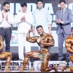 Mr India 2016 - 90 Kg Top 3