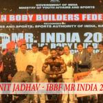 Sunit Jadhav Wins IBBF Mr India 2016