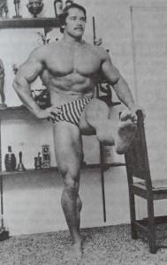 Arnold Rare Photo