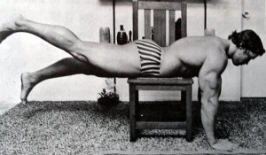 Arnold Rare workout photo