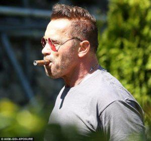Arnold Smoking
