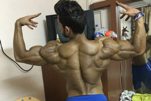 Manoj Patil Back Pose