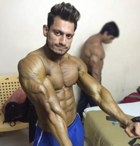 Manoj Patil Triceps