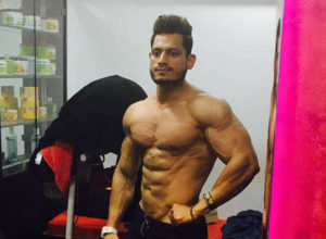 Manoj Patil at Gym
