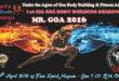 Mr Goa 2016