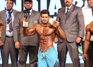 Mr India 2016 Manoj Patil