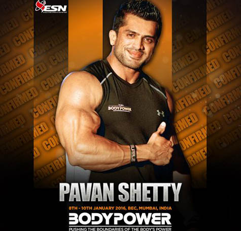 Pavan Shetty Team BodyPower Athlete