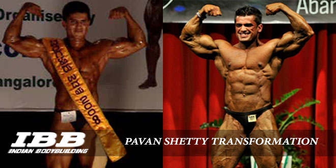 Pavan Shetty Transformation