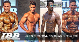 Difference Between Bodybuilding and Mens Physique
