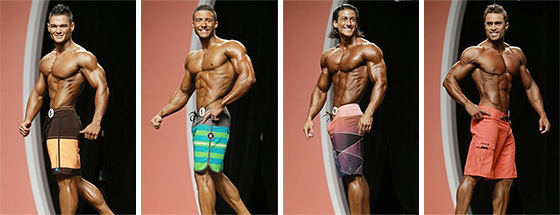 Mens Physique Athletes
