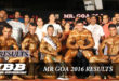 Mr Goa 2016 Results