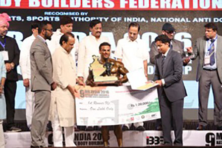 Yatinder Singh Mr India Runner Up