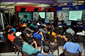Yatinder Singh Taking Lecture
