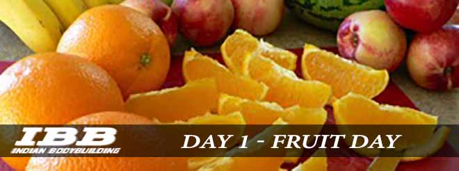 1 ° giorno - All Fruit Day