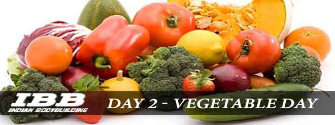 Giorno 2 Vegetable Day