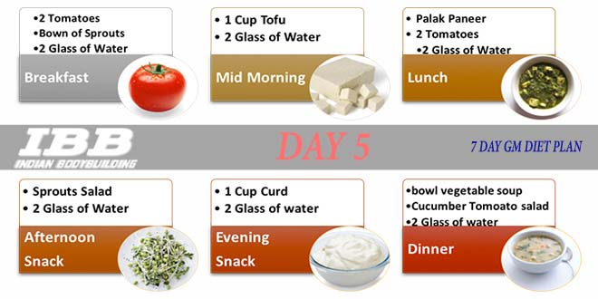 7 day gm diet menu for General motors diet pdf
