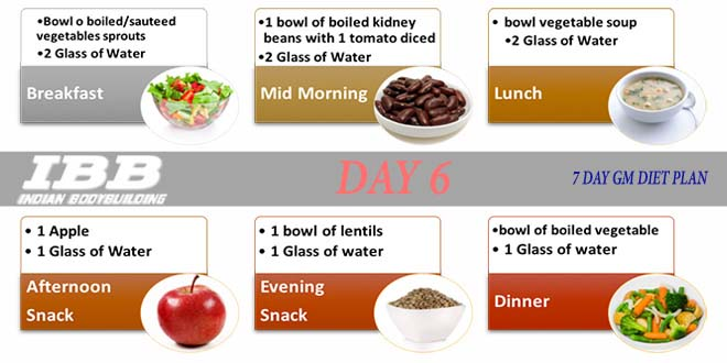 General Motors Diet Plan Delighttoday