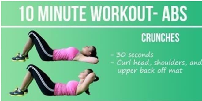 10-minutes Abs Workout Routine-min