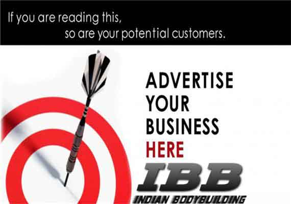 Advertise with Indian Bodybuilding