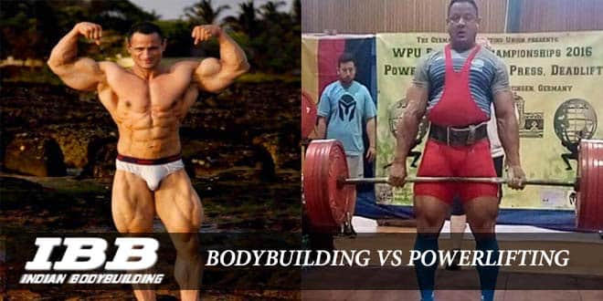Difference Between Bodybuilding and PowerLifting