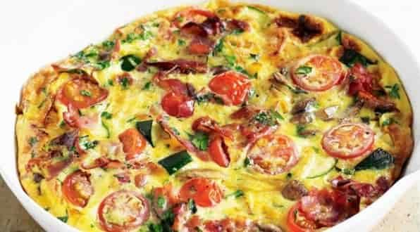 Frittatas in paleo diet