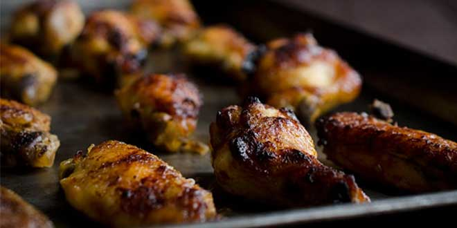 HOney and garlic Chicken-Wings