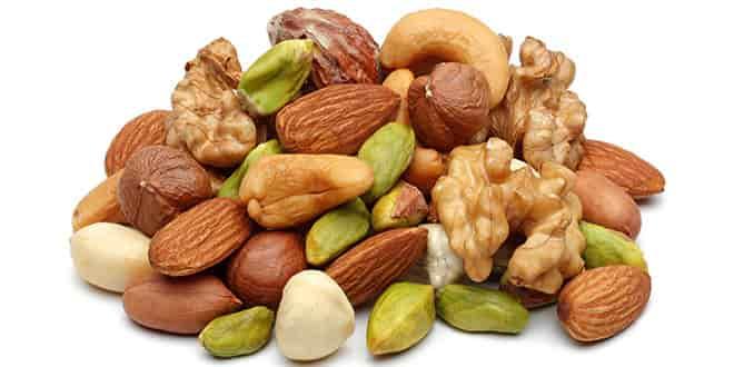 Nuts in Paleo Diet