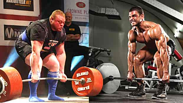 Powerlifter-and-Bodybuilder Workouts