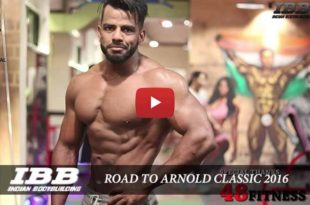 Road to Arnold Classic by Siddhant Jaiswal