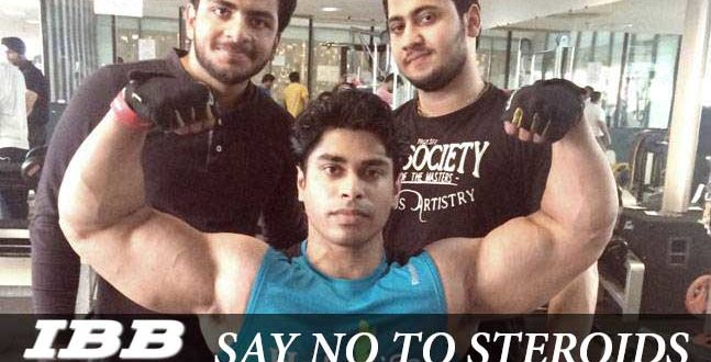 Anand Arnold Say no to steroids