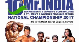 IBBF Mr India 2017