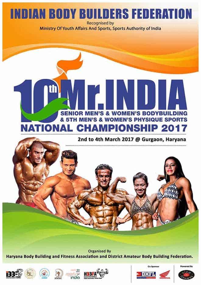 IBBF Mr India 2017 Details