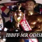 IBBFF Mr Odisha 2017 Results