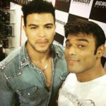 Iqbal Sayed with Sahil Khan