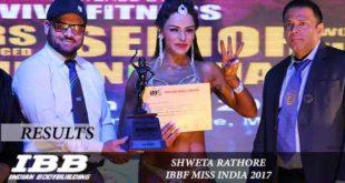 Shweta Rathore Miss India 2017 Winner