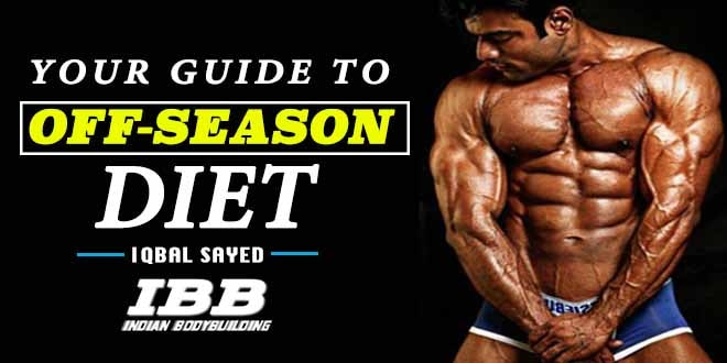 Guide To Off Season Diet