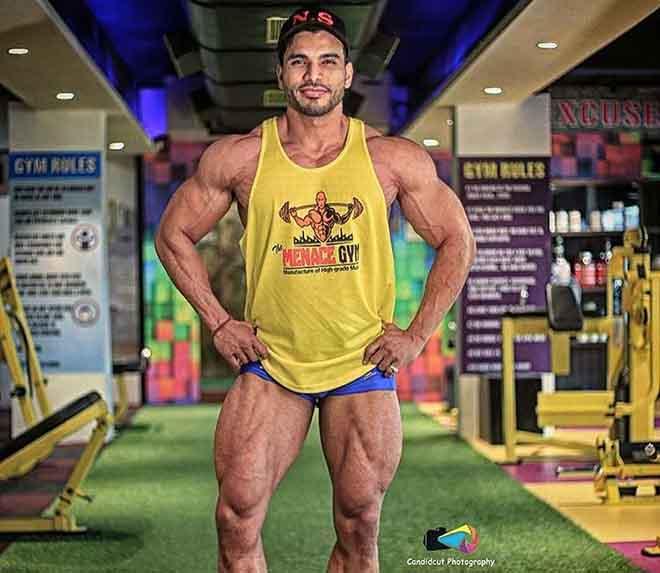 Nitin Singh At Menace Gym