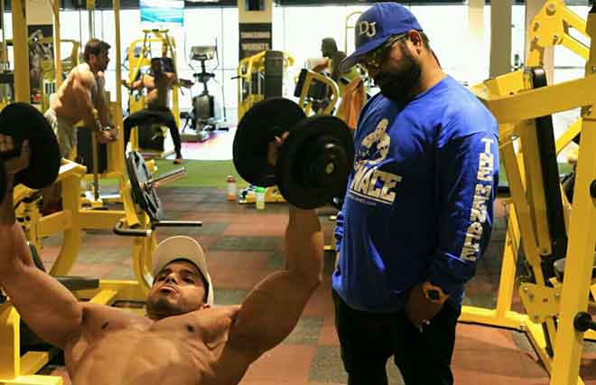 Rakesh Udiyar Training Nitin Singh