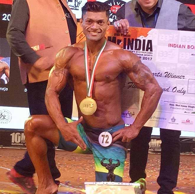 Sumit Banerjee Mr India 2017