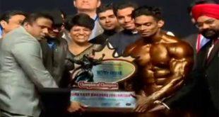 Sunit Jadhav Wins Mr India 2017