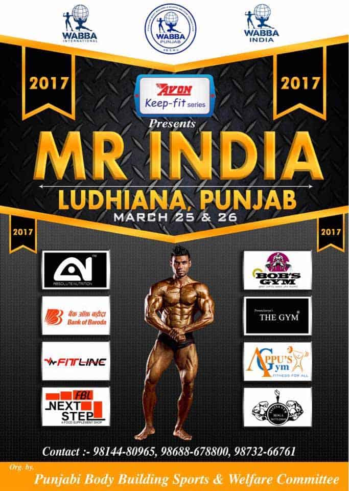 WABBA Mr India 2017