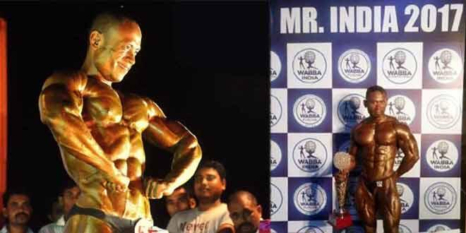 Golap Rabha_Posing at Mr India